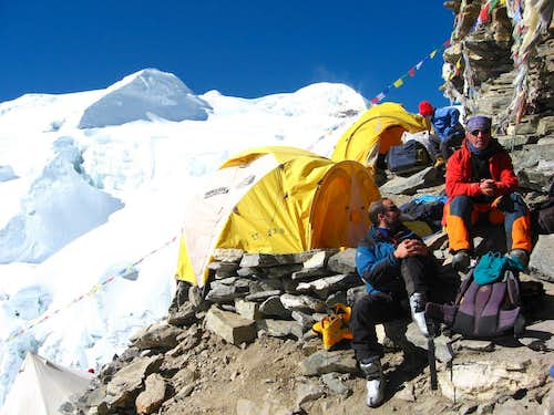 High camp of Mera Peak