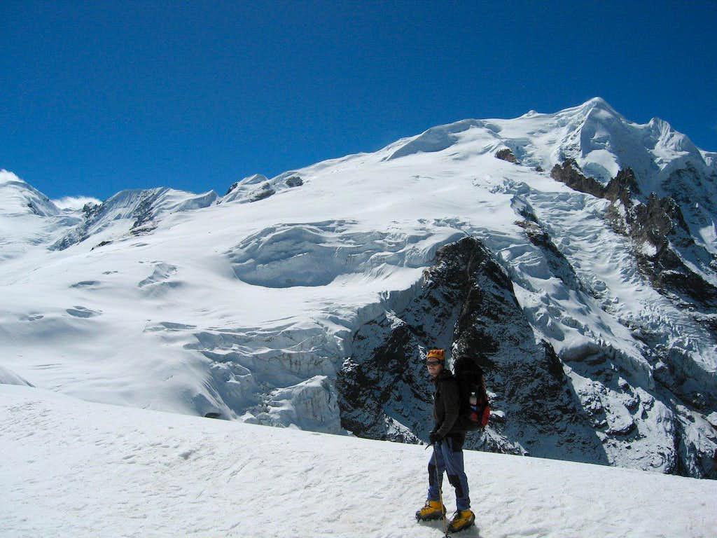 Mera Peak from the north glacier