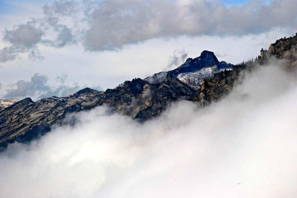 Castle Crag Above the Mist