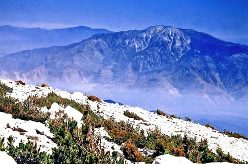 San Jacinto Peak from San Gorgonio Mtn.