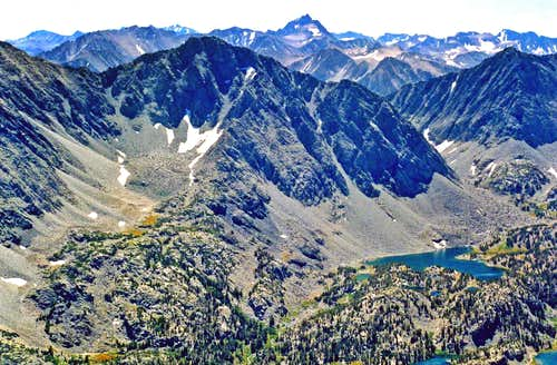 South from Mt. Starr