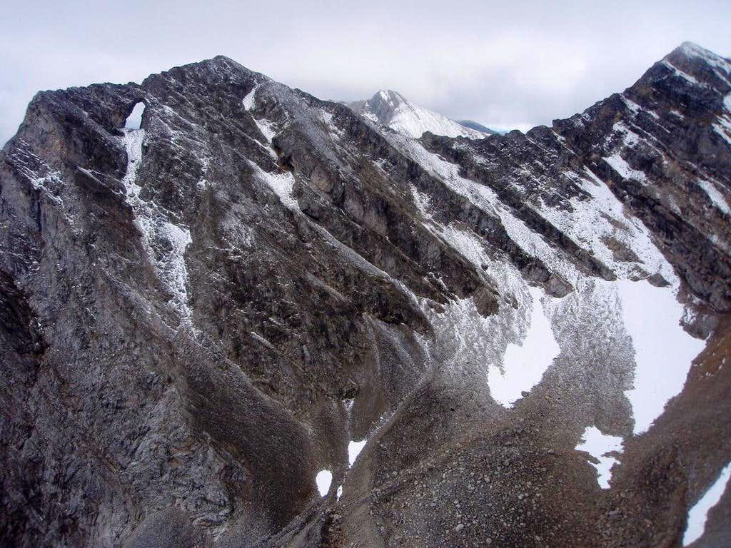 Window Mountain from Mount Ward