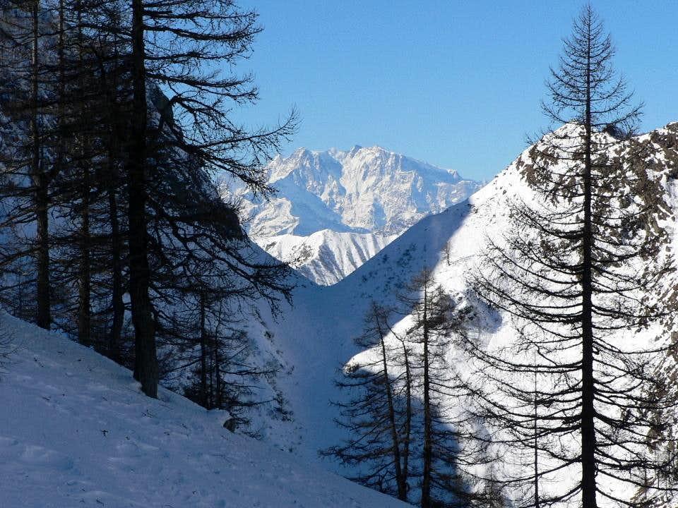 Bocchetta di Vald and Monte Rosa