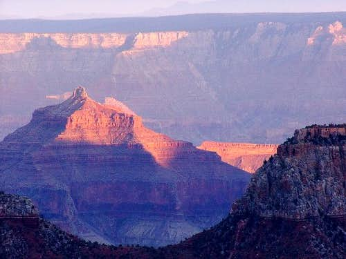 North Rim: view from Bright...