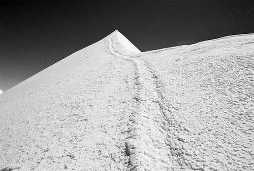 Parrotspitze summit ridge