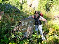 King's Peak sign