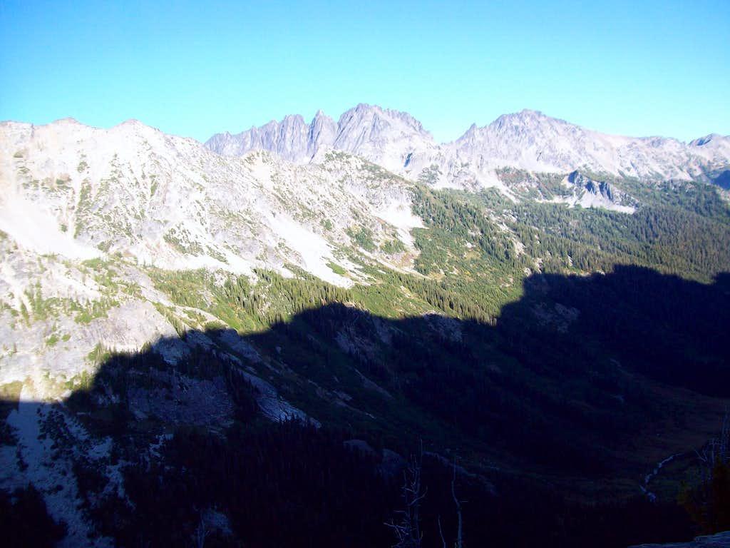 Mt. Maude and Seven Fingered Jack