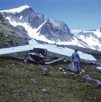 1973 - Arapaho Pass, CO - Downed Plane