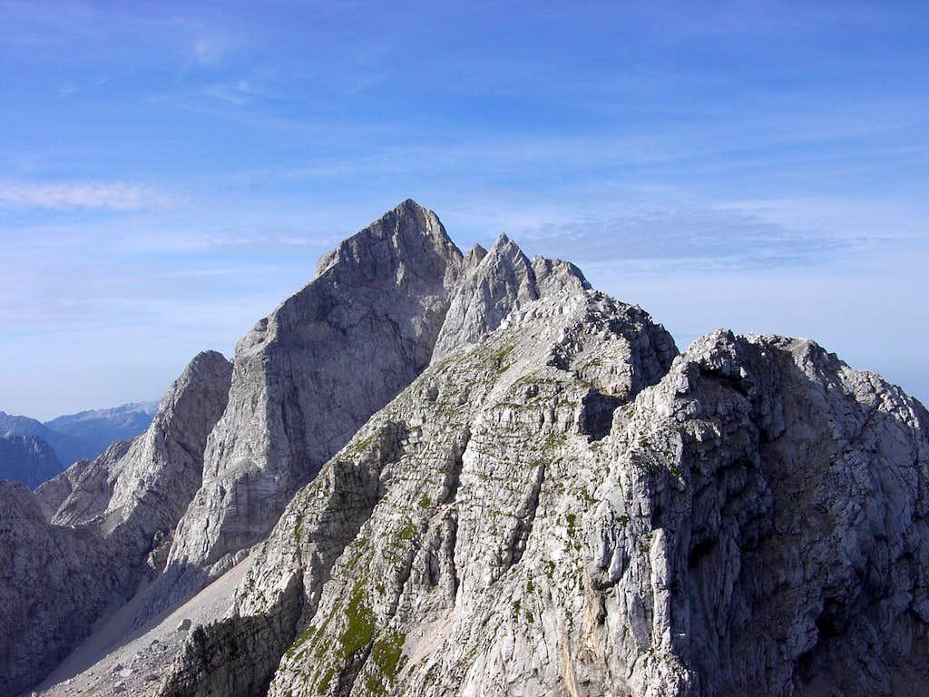 Jalovec seen from Veunza