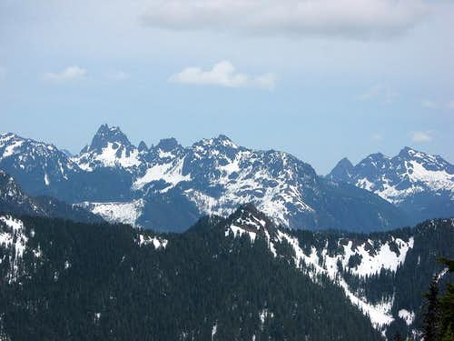 And More Olympic Peaks