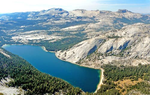 Tenaya Lake and Hoffman Range