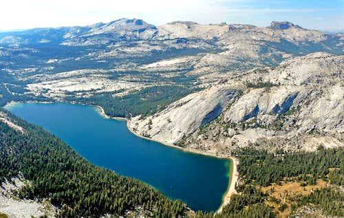 Tenaya Lake and Hoffman Range