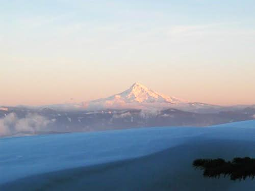 Mt hood from near the summit...