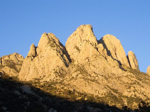 South Rabbit Ear (Organ Mtns)