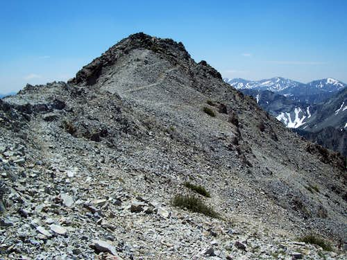 Looking Back to the Summit of Norton