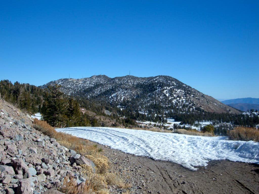 Slide Mountain - November 2008
