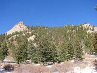 South Face from Kelsey Campground