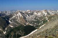 Sawatch Range from Massive Ridge