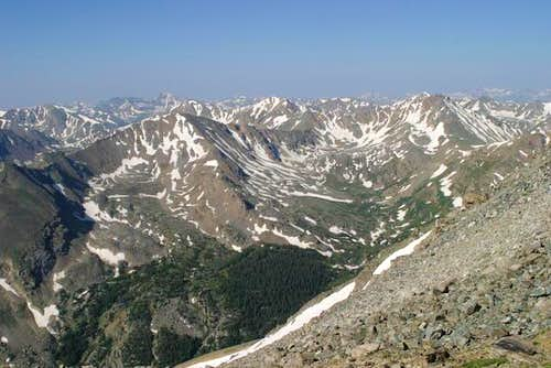 Sawatch Range from Massive Ridge