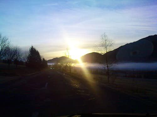 Road to Tatra