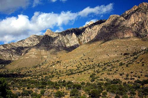 Tejas Trail - Guadalupe Mountains