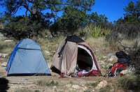 High Camp on Guadalupe Peak