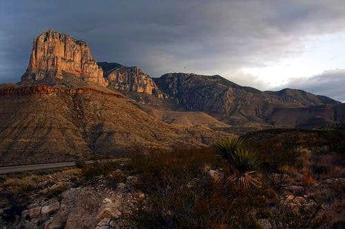 El Capitan - Guadalupe Peak at sunrise