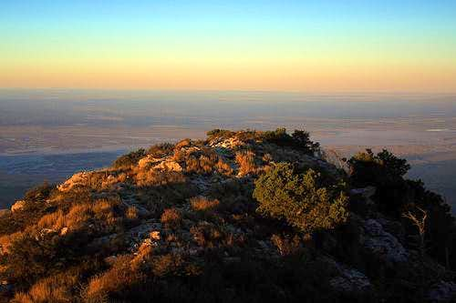 Guadalupe Peak Sunrise
