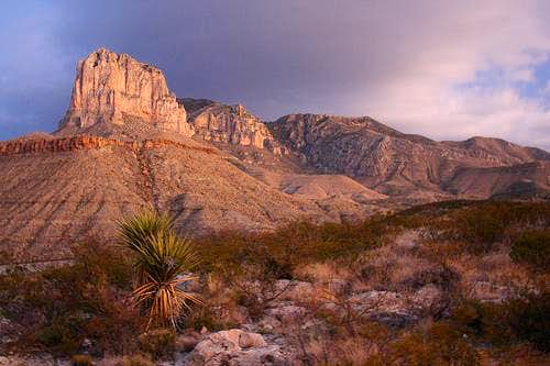 Guadalupe Peak - First Summit