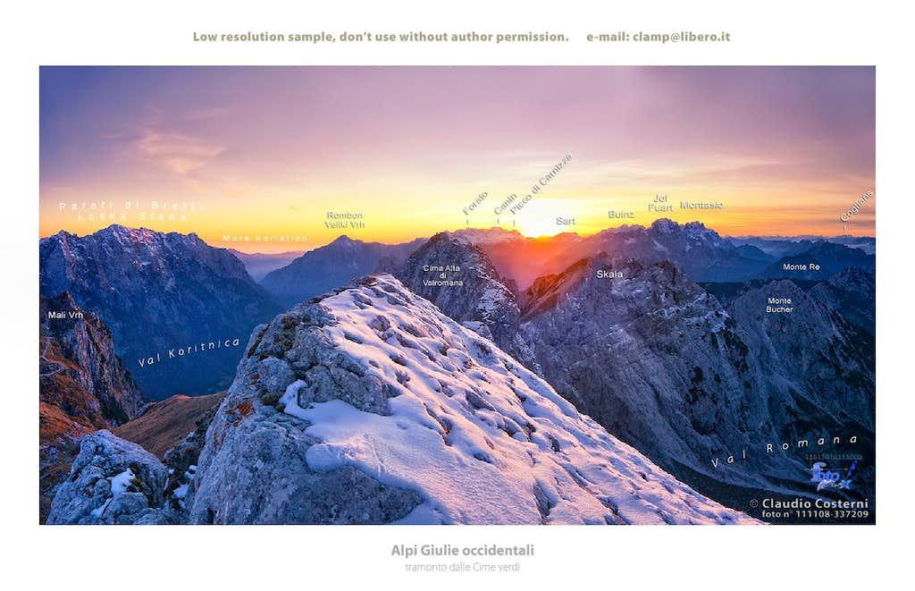 Alpi Giulie occidentali