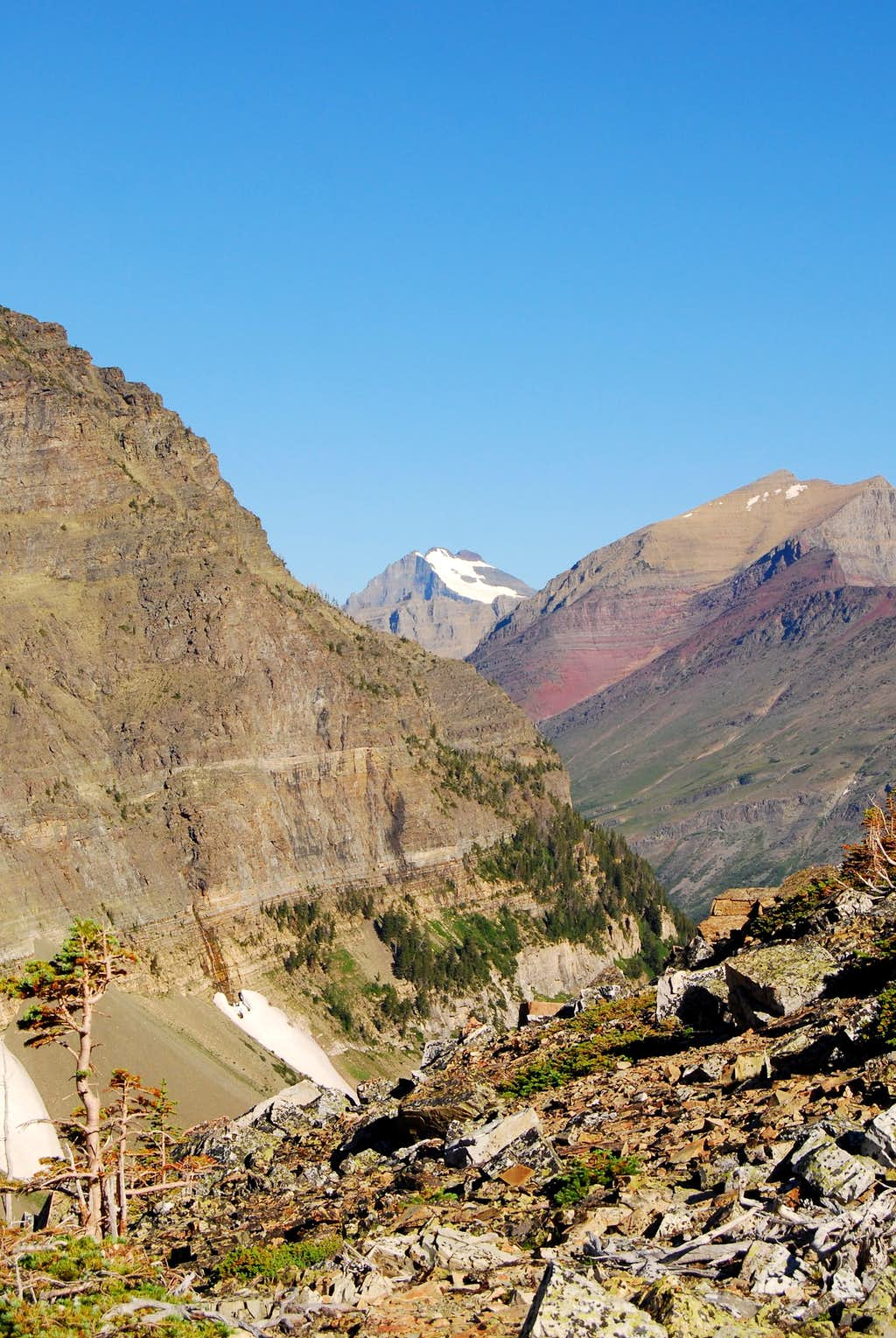 Mount Merritt with Old Sun Glacier