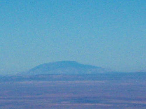 Navajo Mountain as seen from Humphrey\'s Peak (AZ)