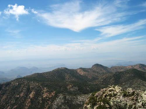 View from Emory Peak March 19...