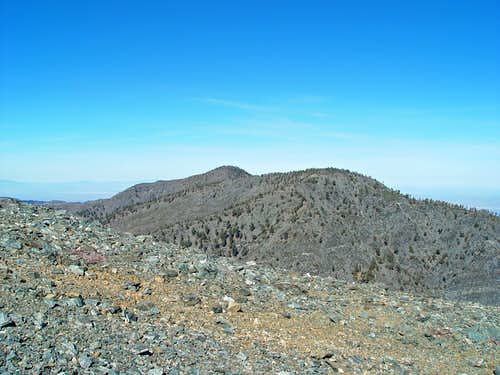 Dawson Peak and Pine Mountain
