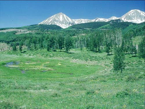 Mount Mellenthin and Mount...