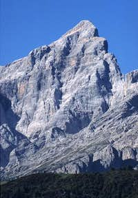 Monte Civetta seen from NE...