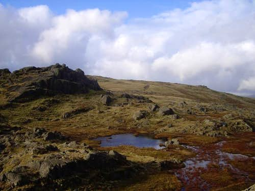 Pavey Ark Summit
