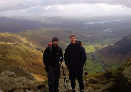 Bill and I on Harrison Stickle