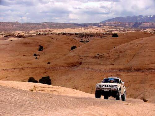 Sand Flats near Moab: Hell's...