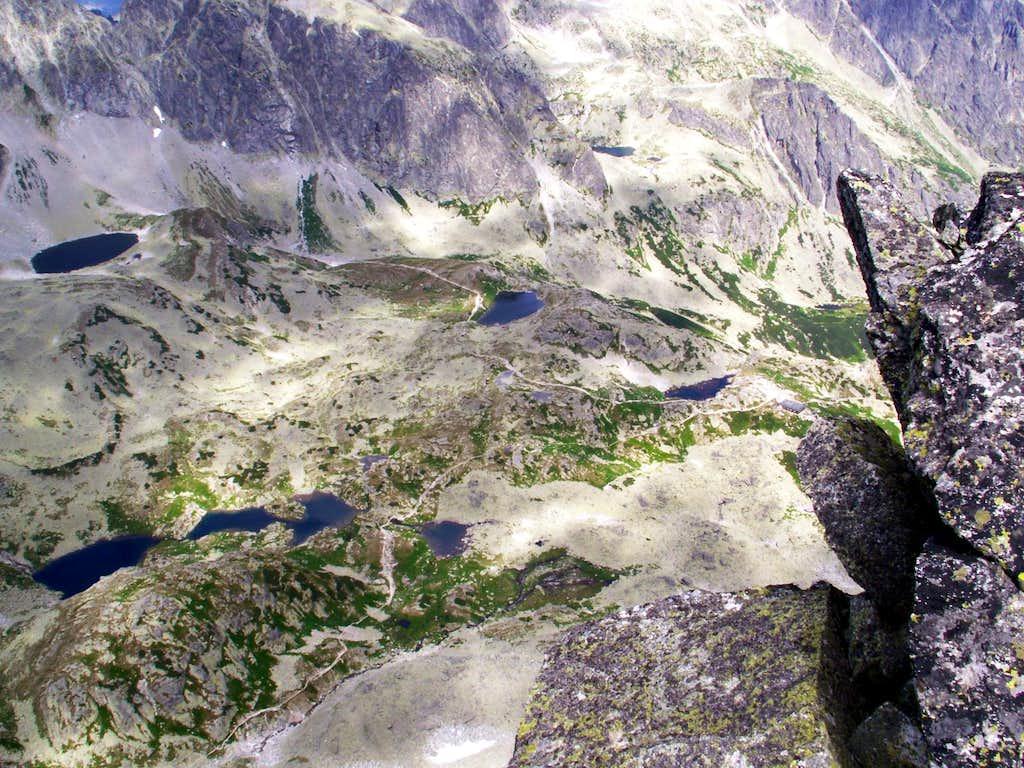 Lakes in Starolesna Valley