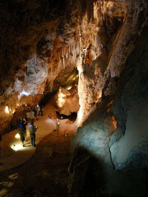 Main room of Mitchell Caverns