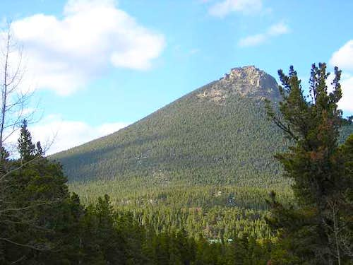 Estes Cone (11,006ft), from...