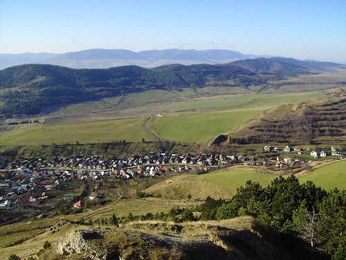 View to Kamenica Village