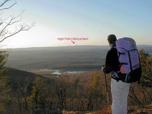 The High Point Monument can...