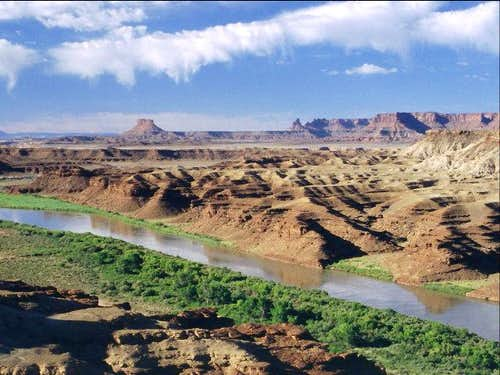 View from the White Rim Trail...