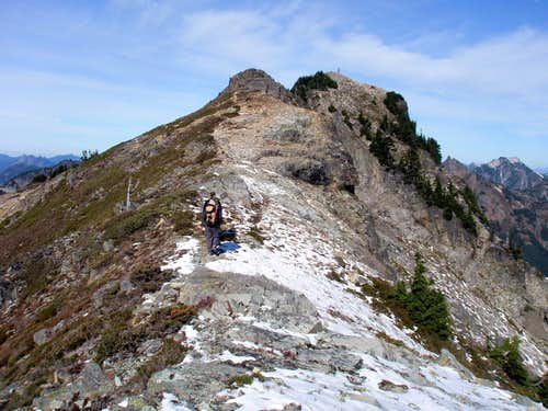 Close to Alta summit