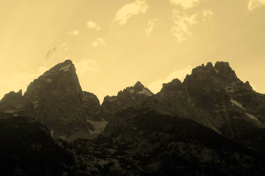 The Grand, Mt. Owen, and Teewinot