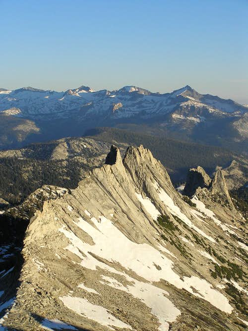 Matthes Crest and the Clark Range
