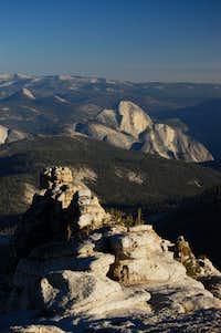 Half Dome and SW Yosemite