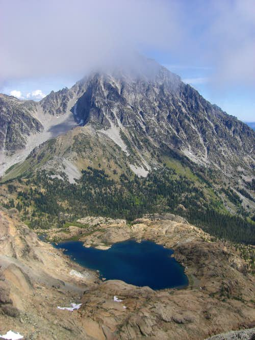Mount Stuart from South Ingalls